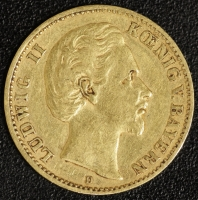 10 Mark Ludwig II 1875