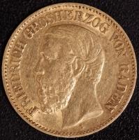 10 Mark Friedrich 1876