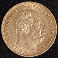 20 Mark Wilhelm I 1873 C ss-vz