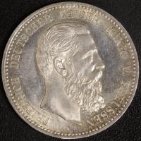 5 Mark Friedrich III. 1888