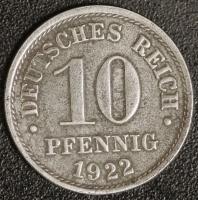 10 Pfennig 1922 ohne