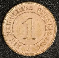 1 Pfennig 1894