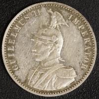1/2 Rupie 1891 DOA