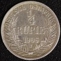 1/4 Rupie 1906 A DOA