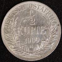 1/2 Rupie 1909 J