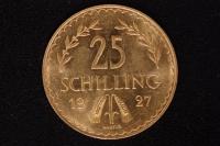 25 Schilling 1927 Gold