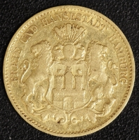 10 Mark Hamburg 1875
