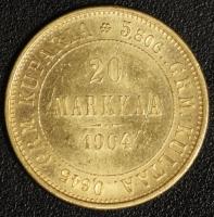 20 Markkaa 1904, Nikolaus II