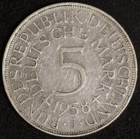 5 DM 1958 J