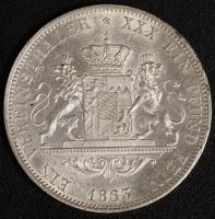 Vereinstaler 1863