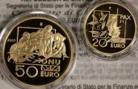 San Marino 70 ¤ Gold-Satz  2005