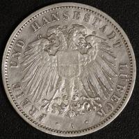 3 Mark Lübeck 1908