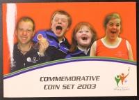 Kursmünzensatz 2003 Irland Olympiade
