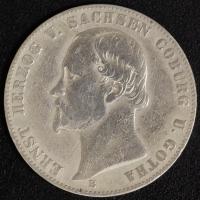 Vereinstaler 1862 Ernst