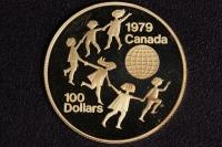 100 $ Canada 1979 Kinder der Welt