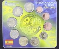 Kursmünzensatz 2012 Spanien