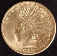 10 $ Indianer 1932