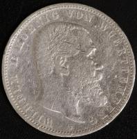 5 Mark Wilhelm II (Wü) 1892-13