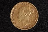 1/2 Sovereign Victoria 1883
