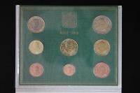 Kursmünzensatz 2010 Vatikan st