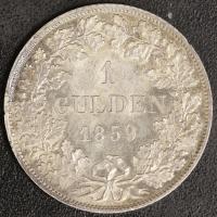 Gulden 1859 vz-st