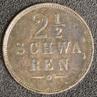 2 1/2 Schwaren 1866