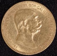 10 Kronen 1908 Reg. Jub. Gold