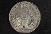 Zinn-Med. 1772 Hungersnot