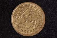 50 Reichspfennig 1925 E