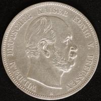 5 Mark Wilhelm I, 1874 A ss