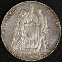 Vermählungsgulden 1854