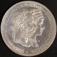 2 Gulden Silberhochzeit 1879