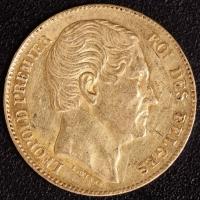 20 Fr. Leopold I 1865