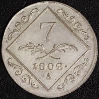 7 Kreuzer 1802 A Wien