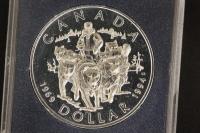 1 $ Canada 1994 Hundeschlitten PL
