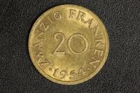 20 Franken 1954