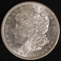 1 $ Morgan 1881 S ss-vz