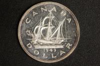 1 $ Canada 1949 Cabot