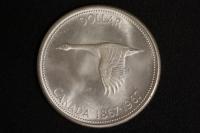 1 $ Canada 1967 Wildgans