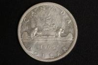 1 $ Canada 1965 Kanu