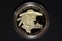 100 $ Canada 1989 St. Marie
