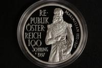 100 Schilling 1997 Maximilian