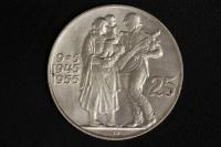 25 Korun 1955 Befreiung