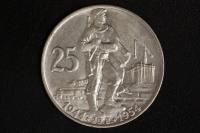 25 Korun 1954 Aufstand