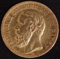 10 Mark Friedrich 1873