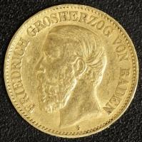 10 Mark Friedrich 1890