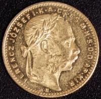 8 Forint 1884