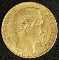 20 Fr. 1854 Napoleon III