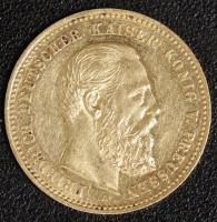 10 Mark Friedrich III. 1888