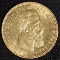 20 Mark Friedrich III. 1888